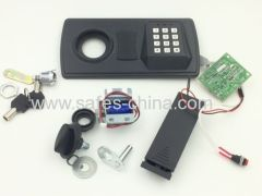 Electronic home safe lock with indicator light for cheap price safe vaults