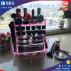 2016 product high quality latest literature rotating acrylic lipstick display rack