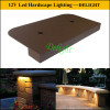 led rail lighting led outdoor paver wall lighting 12V low voltage led landscape lighting led entryway light and accent