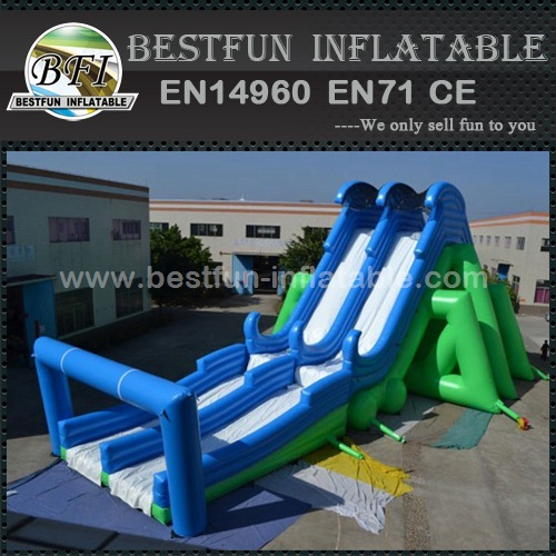 Adults large insane inflatable 5K slide for events