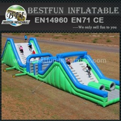 Outdoor jumper team adult inflatable obstacle course
