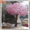 outdoor artificial trees silk-cloth flowers pink cherry blossom bonsai trees