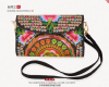 CHINA Handbag Purse National Retro Embroidered Phone Change Coin beautiful gift national handmade embroidered tote bags