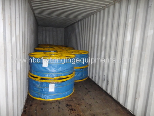 18MM Anti Twisting Steel Wire Rope for Two bundled conductors stringing