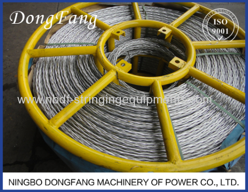 24MM Anti Twisting Braided Steel Wire Rope for 4 Conductor Stringing