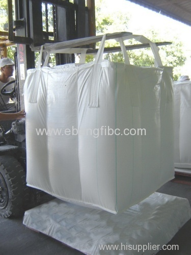FIBC Food Grade Baffle Bag for Agricultural Products