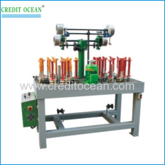 High speed jack stay cord braiding machines