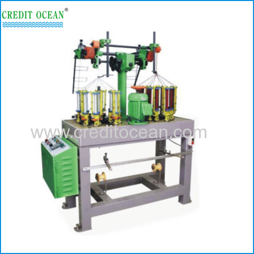 Jack stay cord braiding machine