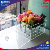 Luxury acrylic gift box/ clear acrylic luxury flower box