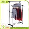 Stainless Steel Garment Storage Cloth Drying Shelf With Wheels
