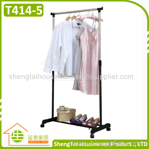 Portable Single Side Stand Cloth Display Rack