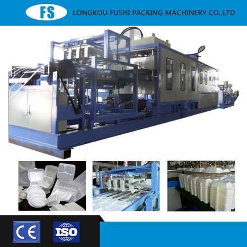 Automatic Vacuum Forming Cutting and Stacking Machine