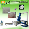 Plastic recycling machine for PE foam scraps