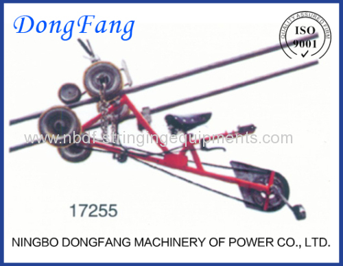 Air Space Trolleys and Overhead Lines Bicycles of Stringing Tools