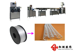 High Strength And High Precision Plastic Binding Spiral Ring Wire Coil Machine