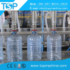 Automatic 5-10L plastic bottle drinking water filling capping machine linear type