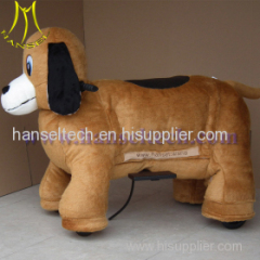 outdoor electric ride on animals with SD card for commercial business