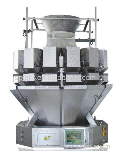 5 L Hopper volume Salad Multihead Weigher Packing Machine Automatic Food Package machine