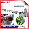 Single screw extruder machine for HDPE drip irrigation pipe line