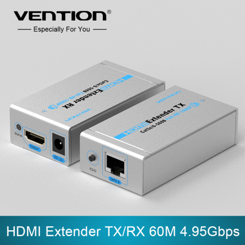 HDMI Extender TX/RX 60M 4.95Gbps Speed Fast Transmission Support HDMI 3D EU/UK/AU/US plug 1080i/720p/576p/576i