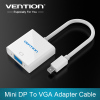 Mini Display Port DP To VGA Adapter Cable For Apple Macbook Air Pro iMac