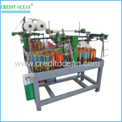 High speed four colors cord braiding machine