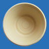 75S round bowl bamboo pulp disposable eco-friendly SGS abbaubar mold pulp green environmental paper bowl