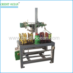 Flat cord braiding machine