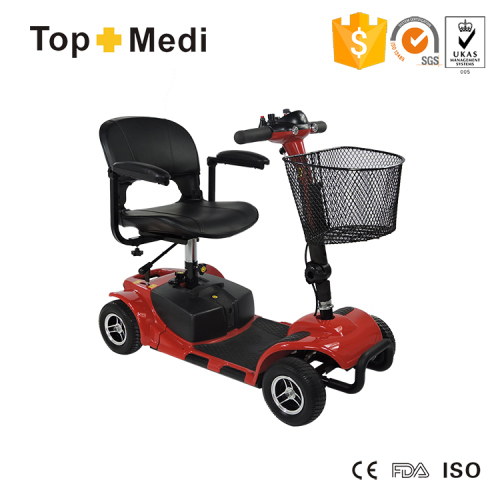 Economic Handicapped Power Mobility Scooter with 4 Wheels