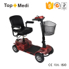 Topmedi Electric Detachable Handicapped Scooter with Battery Charge for Old People