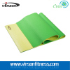 Virson double layer colour eco-friendly PVC material yoga mat