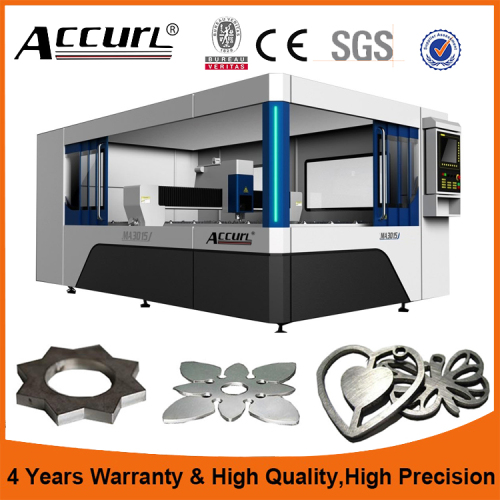 Accurl Fiber Laser Cutting Machine with Cut size 1530 and IPG 1000 watt