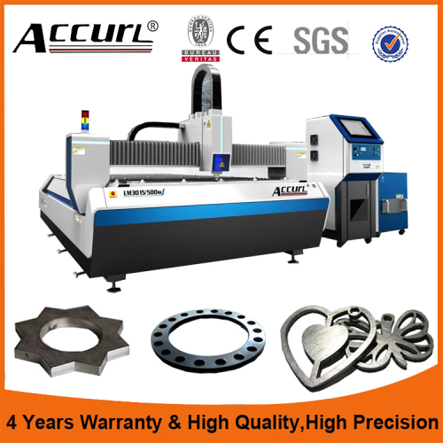 New stainless steel laser cutting machine comes from China