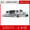 Automatic flatbed die cutting machine