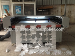 1800*1000mm Double 100w Auto Feeding Laser Cutting Machine for Garment and Leather