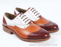 Colorful Fashion Flat Office Men Shoes