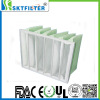 Synthetic fiber filter bag