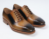 Lace up business men shoes