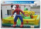 Spider Man Inflatable Bouncy Castle Cartoon Inflatable Bouncer Trampoline Castle