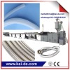 Flexible braided PEX shower hose making machine/flexible plumbing hose making machine