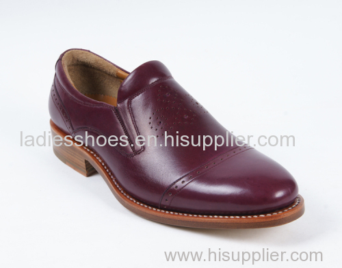 New Custom Office flat pull on men shoes