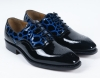 New Fashion PU Patent Leather men shoes