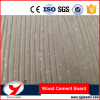 Wood grained fiber cement board