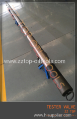 Select tester valve for Full H2S drill stem testing operation