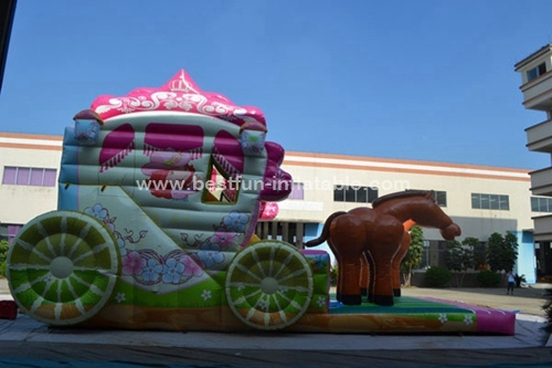 Princess Carriage Inflatable Combo