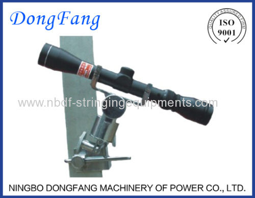 Zoom Sag Scope for conductor sagging of Transmission Line Stringing Tools