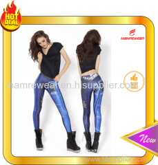Custom Make 2016 Fashion Leggings Breathable/ Durable Compression Tights