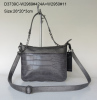 PU fabric shoulder bag