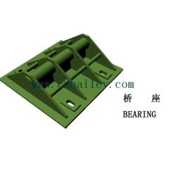 Bailey Steel bridge Bearing