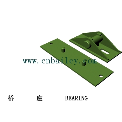 Bailey Steel bridge Bearing & Baseplate